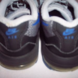 Nike Shoes - Nike Gray Blue Black Sneakers Size 13.5C